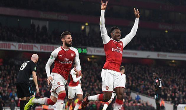 «Арсенал» победил «Вест Хэм» ивышел вполуфинал Кубка лиги