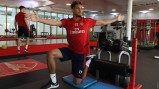 Pictures: William Saliba at London Colney